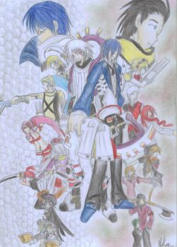 PERSONA3+.hack GROUPIES colour by Natsumi-Chian
