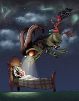 Nightmare by Chris Sanders by ChrisShields
