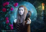 With raven by Lubov2001