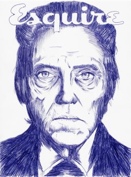 Christopher Walken Esquire by artwarriors