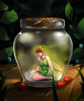 My beloved TinkerBell by AmeDvleec