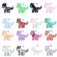 (10 PTS) 16 Cheap Puppy Adopts // Open 6/16 by FrostyyAdopts