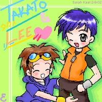 Takato x Lee - Digimon Tamers by eeveelover