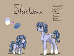 Starweave Ref (NOW WITH BIO) by ObsidianMelody