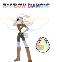 Gemsona / Rainbow Diamond by TrustyArts