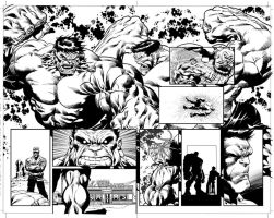 Hulk 23: Pages 30-31 by MikeDeodatoJr