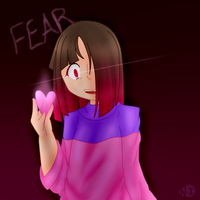 [Glitchtale] You're filled with FEAR. by Nagisa-Imouto