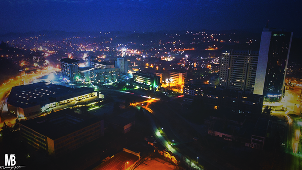 Tuzla night ( ColorC + 1920x1080 ) by Momenzi