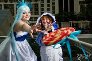 Candyland Cosplay: Gimme that Lollipop by HatterSisters