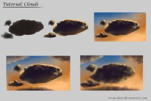 Cloud Tutorial - Sunset by Wraeclast
