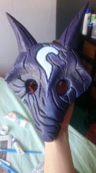Kindred mask by KibaNightray