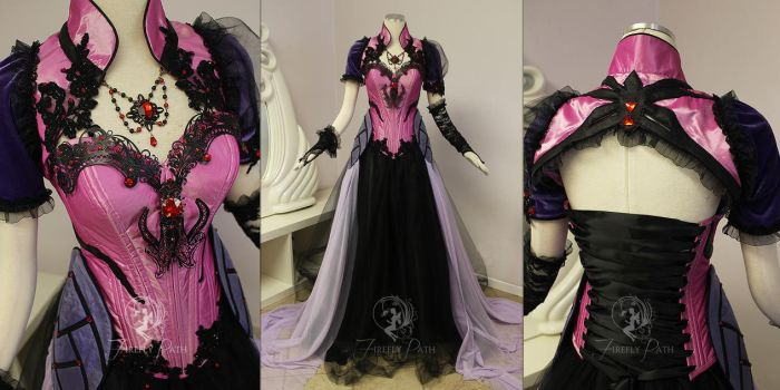 Widowmaker Masquerade Gown by Firefly-Path