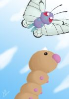 012-013 Butterfree Weedle