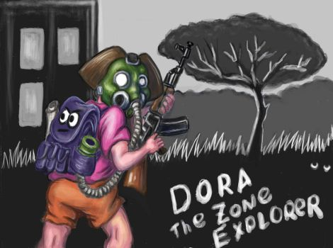 Dora-04 the zone explorer by Murzik18