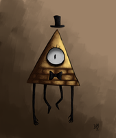 Bill Cipher by Maimed-Bunny