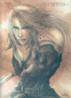 Sephiroth on Parchment by Angelus-Tenebrae