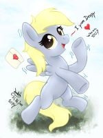MLP FIM - Little Cute Derpy Can Fly by Joakaha