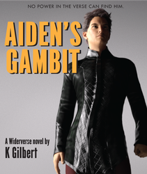 Book Cover: Aiden's Gambit by K Gilbert by Catlore