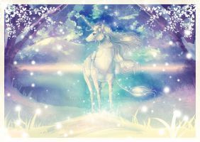 Merry Christmas and the last Unicorn by MasakoHime