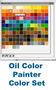 Oil Colors Painter Color Set by kalany