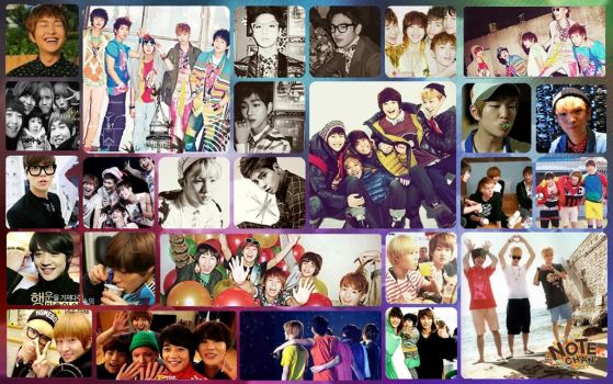 Shinee wallpaper by notebook14
