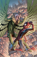 Spider-Man VS Vulture by Furlani