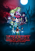 StrangerBound Poster by silverflamng