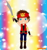 Lil' Captain Pirate by danthe93