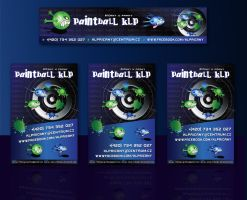 Paintball KLP-Flyers by R1Design