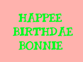 Happee Birthdae Bonnie Wright.! :) by Nolan2001
