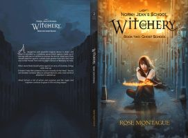 BooK Cover - Norma Jean's School of Witchery 2 by MirellaSantana