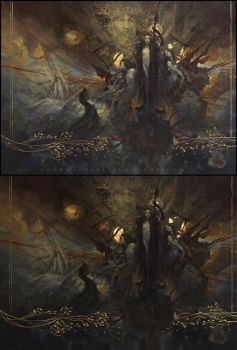The Flowers of Evil... lights and shadows... by Yoann-Lossel