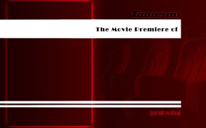 Toonami Movie Premiere Wallpaper Template by CoolTaff12