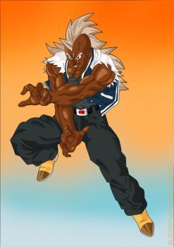Black DBZ Fighter Competition by Bloodspl4sh
