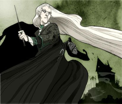 Lucius Malfoy by Sally-Avernier