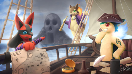 Journey to Skull Island: Commission for Timassoma by streetdragon95