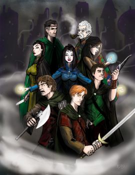 The Wheel of Time: EotW Cover by darlinginc