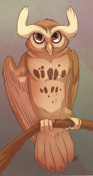Noctowl by Susiron