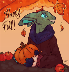 Fall Harvest by Thomisus