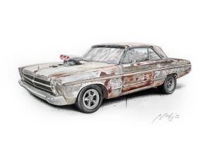 Plymouth Sport Fury 1965 by Mipo-Design
