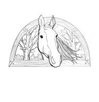 Cover Horse by bookstoresue