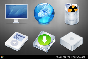 Stainless For IconPackager by ipholio