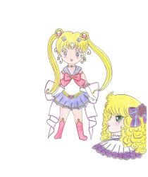 Sailor Moon and Candy Candy XD by Swan-Odyssey