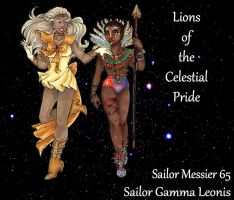 Lions of the Celestial Pride by nickyflamingo