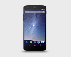 Google Nexus 5 PSD Mock-Up by graphictwister
