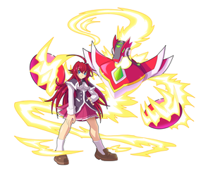 Commission: Rias Gremory and Alpha Z by ultimatemaverickx