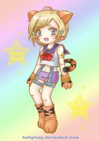 chibi Tiger_Catgirls Contest by BabyLazy