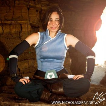 Korra Cosplay by Divinity-bliss