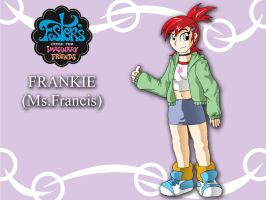 Frankie from Foster's Home FIF by XJKenny