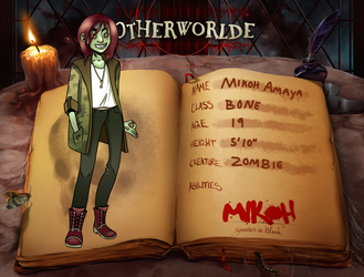 Mikoh :: Otherworlde 1st year by AngryChickenstrip